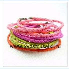 Браслет плетеный для русалки