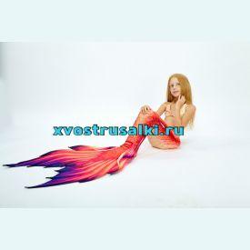 Хвост русалки Каролина +топ