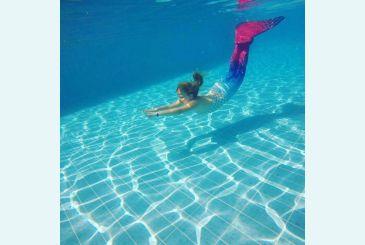 Красно-синий хвост плавание от Алины_2