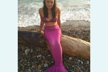 Хвост Люкс фиолетовый фото Татьяны