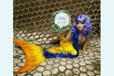 Хвост Дельфина золотой фото Ирины