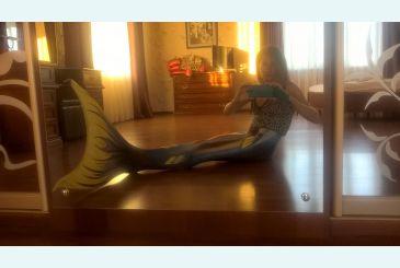 Хвост Delfina синий фото Андре_2