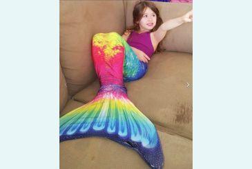 Фото в хвостике Анталия-радуга