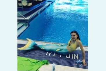Хвост Дельфина Меджик Марина подготовка к плаванию