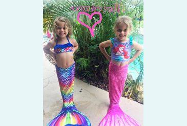 Две сестренки-русалочки