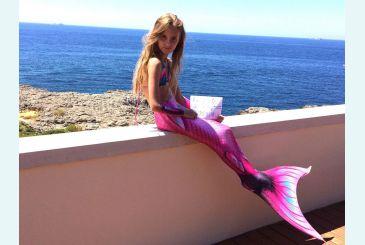 Хвост Дельфина Королева Кариба розовый фото Маши Л. 4