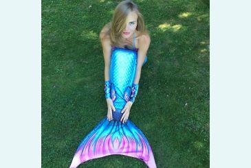 Хвост Дельфина королева Топаз голубой фото Светланы Королевой 1