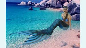 Хвост русалки Нептуния +топ