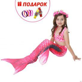 Хвост русалки Малибу с плавниками + купальник