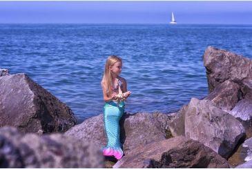 Хвост Дельфина Принцесса морская волна, фотосессия русалочка Ариэль