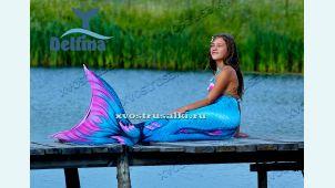 Хвосты КРУТЫЕ  Дельфина из Финляндии 3D чешуя