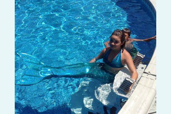 Испортится ли ткань если я буду плавать в бассейне?