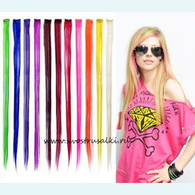 Набор из  12 длинных прядей для волос