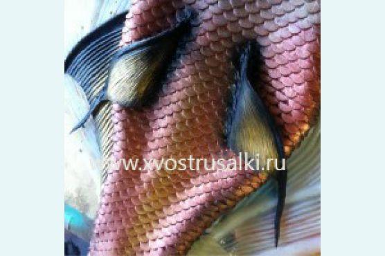 Как делается силиконовый хвост русалки