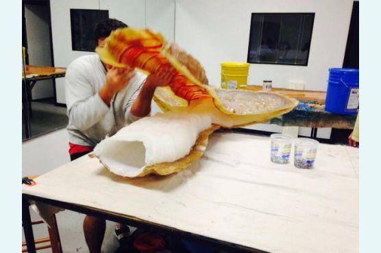 Хвост русалки из силикона