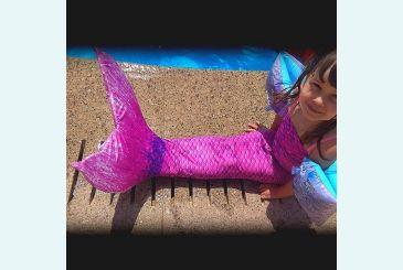 Розово-фиолетовый хвост и фото от Дианы