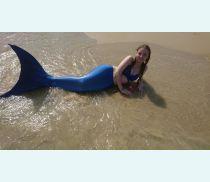 На море с хвостом русалки!
