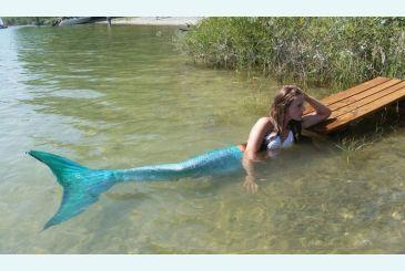 Хвост Люкс морская волна фото Марии_1