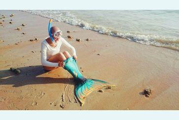 Хвост Дельфина Меджик Марина надеваем