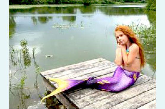 Хвост фиолетовая ночь Дельфина