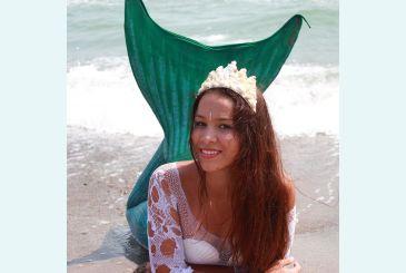 Хвост Люкс морская волна фото Яны