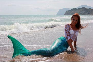 Хвост Люкс морская волна фото Яны 2
