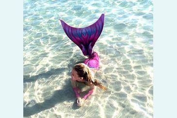 Хвост Дельфина Королева Кариба розовый фото Маши Л. 2