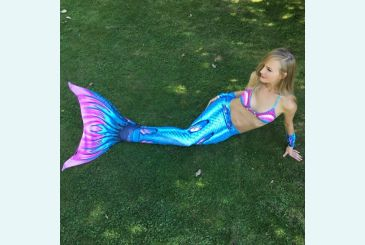 Хвост Дельфина королева Топаз голубой фото Светланы Королевой