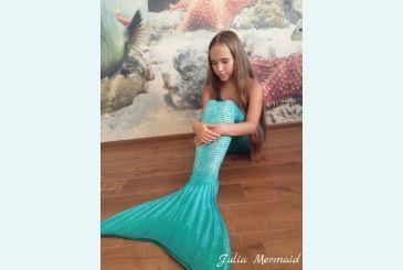 Хвост Люкс морская волна фото Юли
