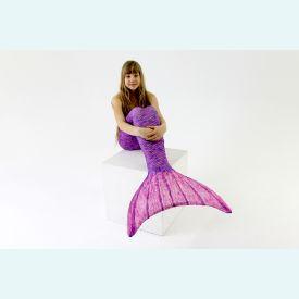 Хвост русалки Акватика фиолетовый