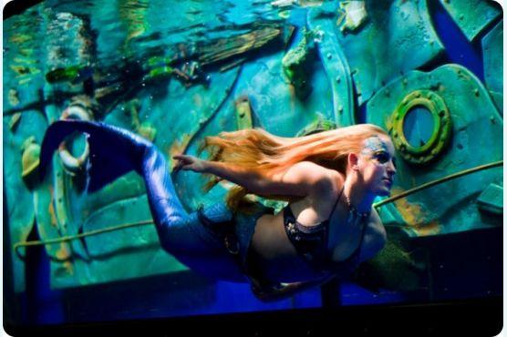 Как плавать под водой без воздуха?