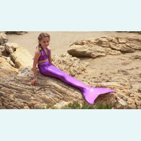 Хвост русалки Normal Лайт фиолетовый