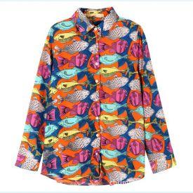 Рубашка в стиле Русалка