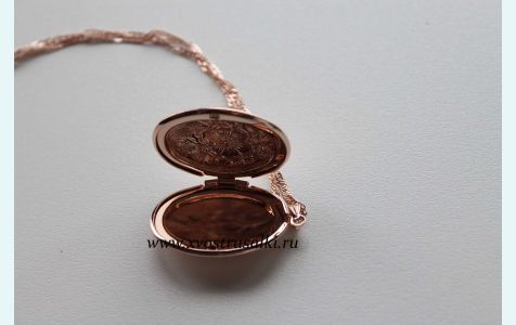 Медальон русалки из н2о