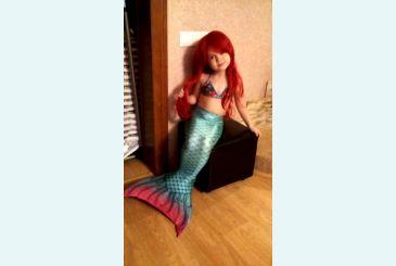 Хвост Дельфина Принцесса морская волна 5