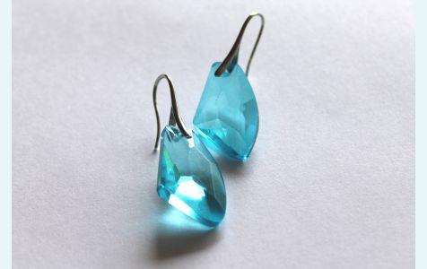 Серьги Н2О кристаллы для русалки