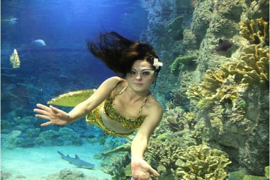 Я русалка!  Как научиться задерживать дыхание под водой?