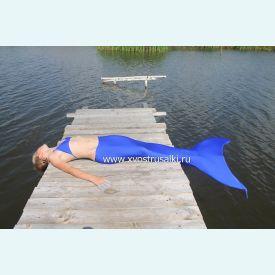 Хвост русалки EXTRA синий+купальник